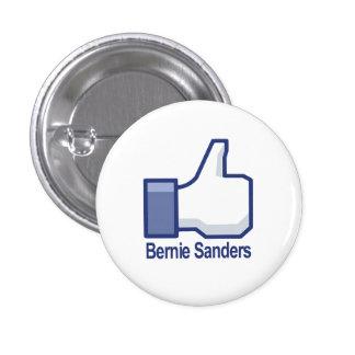 I Like Bernie Sanders Thumbs up 3 Cm Round Badge