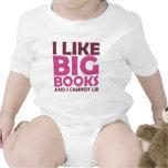 I Like Big Books and I Cannot Lie T-shirts