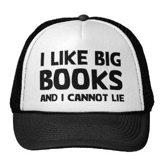 I Like Big Books Cap