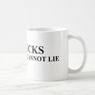 I Like Big Bucks and I Cannot Lie Shirts Coffee Mug