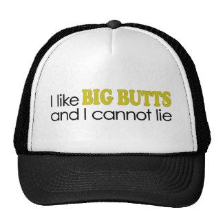 I Like Big Butts Cap