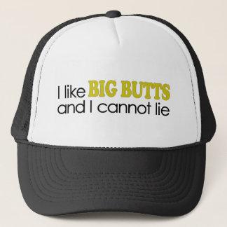I Like Big Butts Trucker Hat