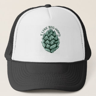 I LIKE BIG HOPS TRUCKER HAT