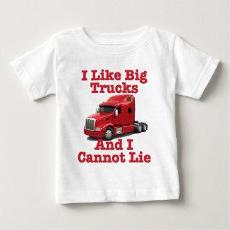 I Like Big Trucks And I Cannot Lie Peterbilt Baby T-Shirt