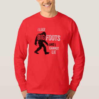 I Like BIGFOOTS T-shirt