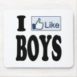 I Like Boys Mouse Pads