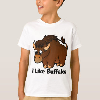 I Like Buffalos T-Shirt