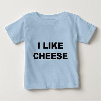 I Like Cheese Baby T-Shirt