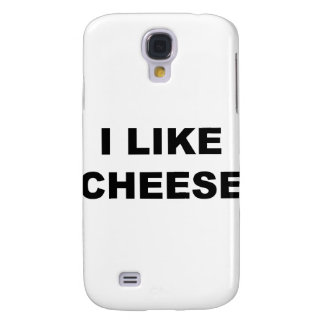 I Like Cheese Galaxy S4 Cover