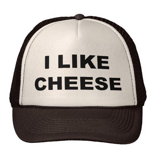 I Like Cheese Mesh Hats
