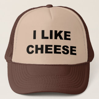 I Like Cheese Trucker Hat