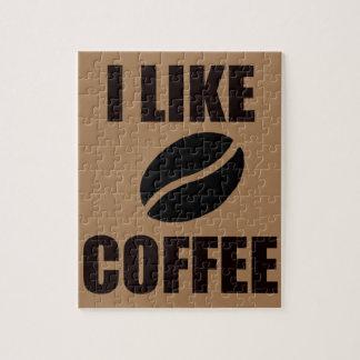 I like coffee jigsaw puzzle