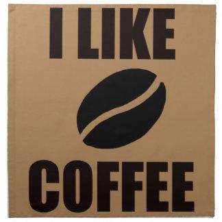 I like coffee napkin