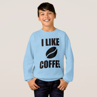 I like coffee sweatshirt