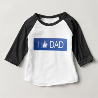 I Like Dad Baby T-Shirt