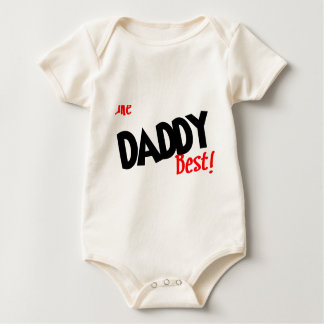 i like daddy best baby bodysuit
