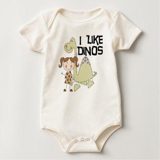 I LIke Dinos-GIrl Tshirts and Gifts