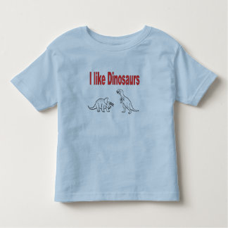 I like dinosaurs kids t-shirt