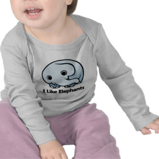 I Like Elephants Tshirt