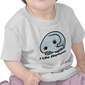 I Like Elephants Tshirts