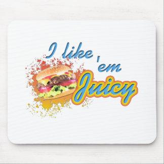 I Like em Juicy Mouse Mats