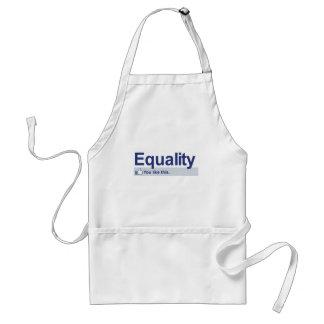 I Like Equality Adult Apron