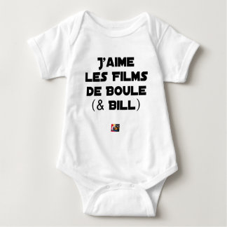 I like Films of Ball (& Bill) - Word games Baby Bodysuit