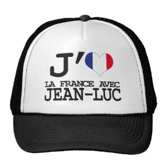 I like France with Jean Luc Hats