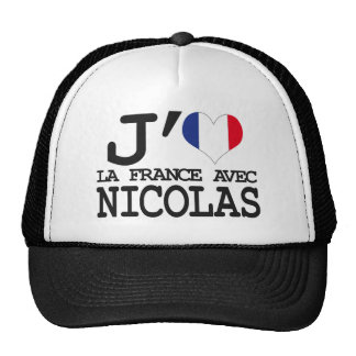 I like France with Nicolas Mesh Hat
