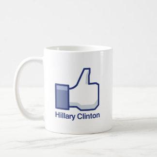 I LIKE HILLARY CLINTON.png Coffee Mug