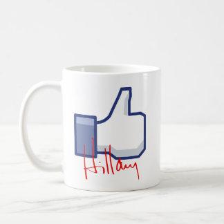 I LIKE HILLARY -.png Coffee Mug