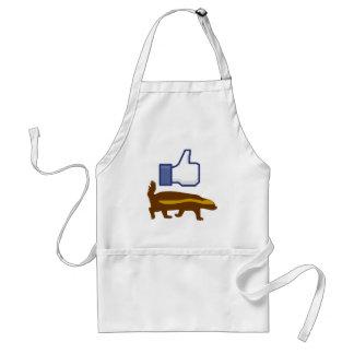 I like Honey Badger Standard Apron