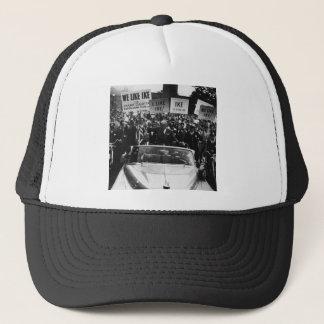 I Like Ike Dwight D. Eisenhower Campaign Trucker Hat