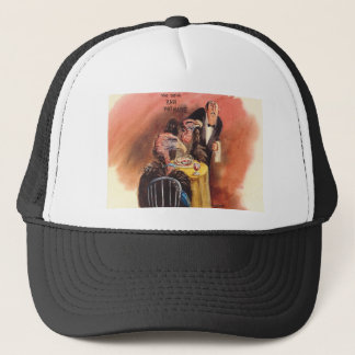 I like it raw! trucker hat