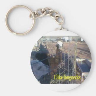 I like longnecks keychain