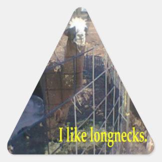 I like longnecks. sticker