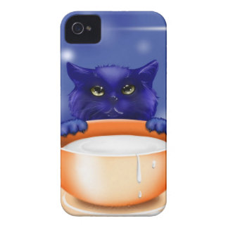I like milk and mom love kitten Case-Mate iPhone 4 cases