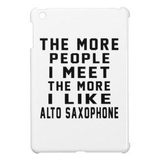 I Like More Alto Saxophone iPad Mini Case