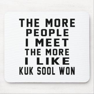 I like More Kuk Sool Won Mouse Pad