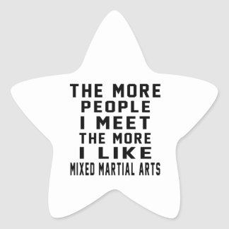 I like More Mixed martial arts Star Stickers