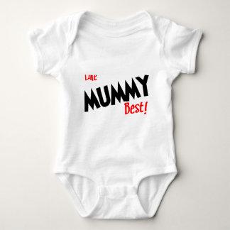 i like mummy best baby bodysuit