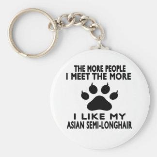 I like my Asian Semi-longhair. Key Chain