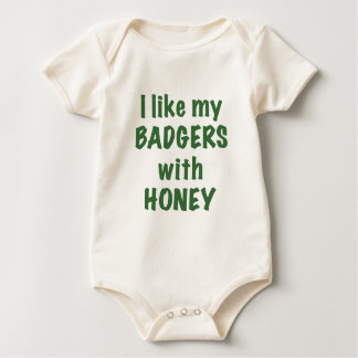 I like my Badgers with Honey Rompers