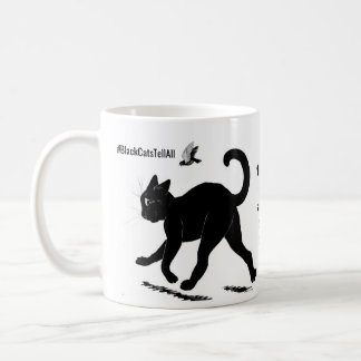 I Like My Cats and My Coffee Black Coffee Mug
