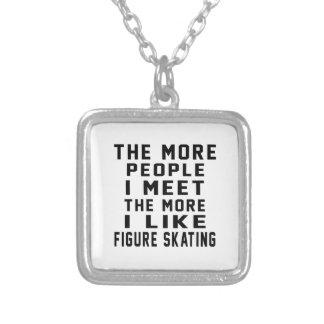 I like my Figure Skating. Custom Necklace