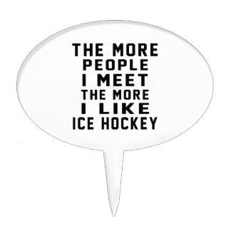 I like my Ice Hockey. Cake Toppers