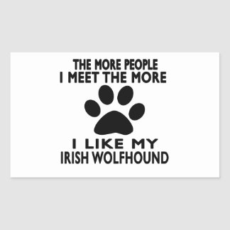 I like my Irish Wolfhound. Sticker