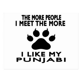 I like my Punjabi. Postcard