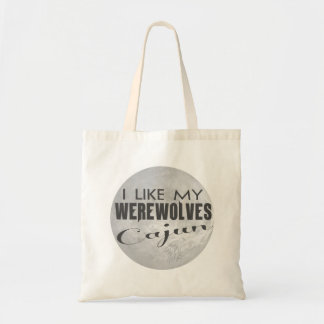 I Like My Werewolves Cajun Economy Bag