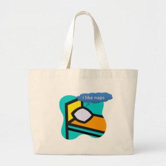 i like naps bag